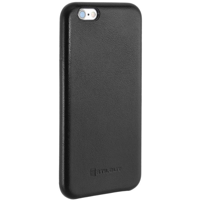 StilGut Premium Backcover f?r Apple iPhone 6/6s schwarz