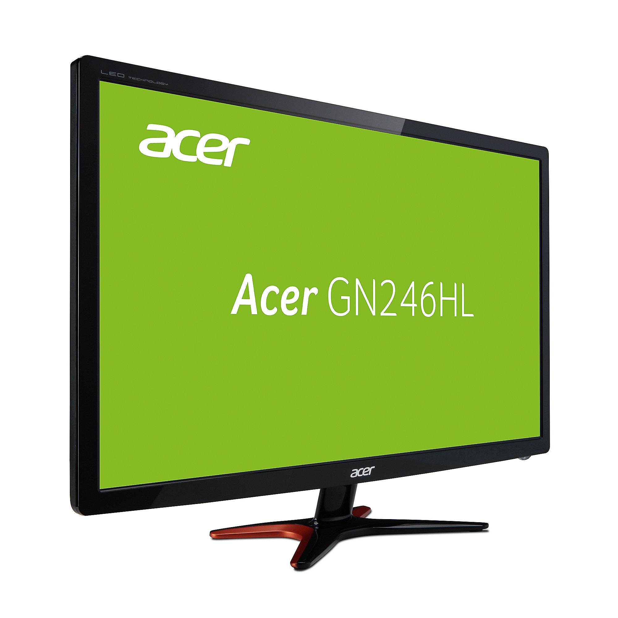 "ACER Predator GN246HLBbid 61cm (24"") Full-HD Gaming Monitor 144hz 1ms 3D ready"