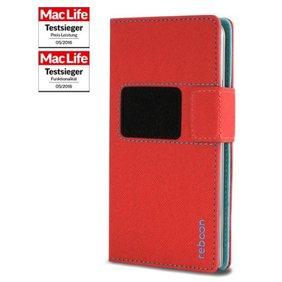 reboon  booncover Universaltasche Size XS2 rot | 4260242212432