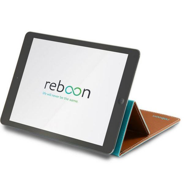 reboon booncover Tablet Tasche Size L braun