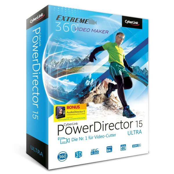 CyberLink PowerDirector 15 Ultra (Minibox)