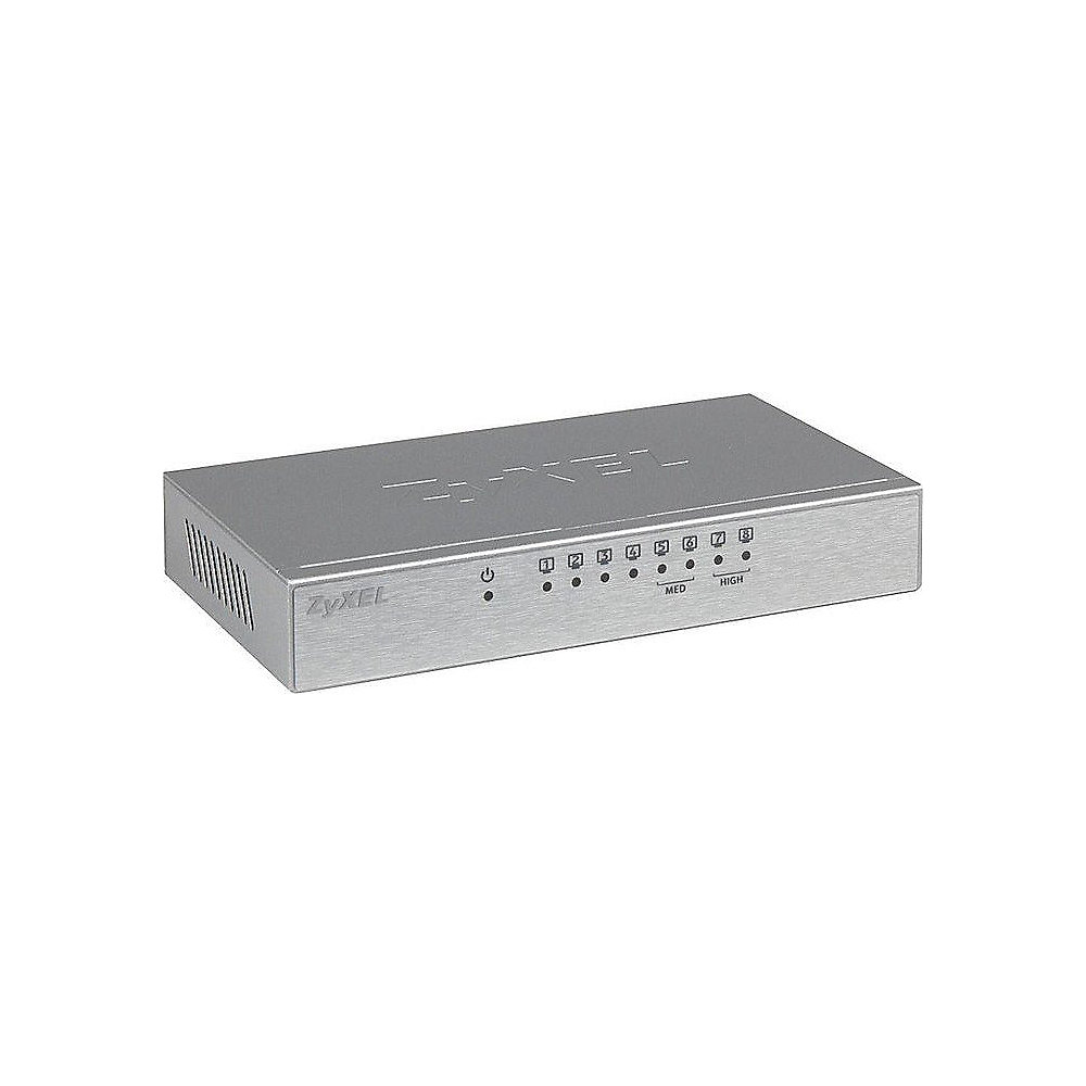 ZyXEL GS-108B V3 8-Port Gigabit Switch (4x QoS Ports)