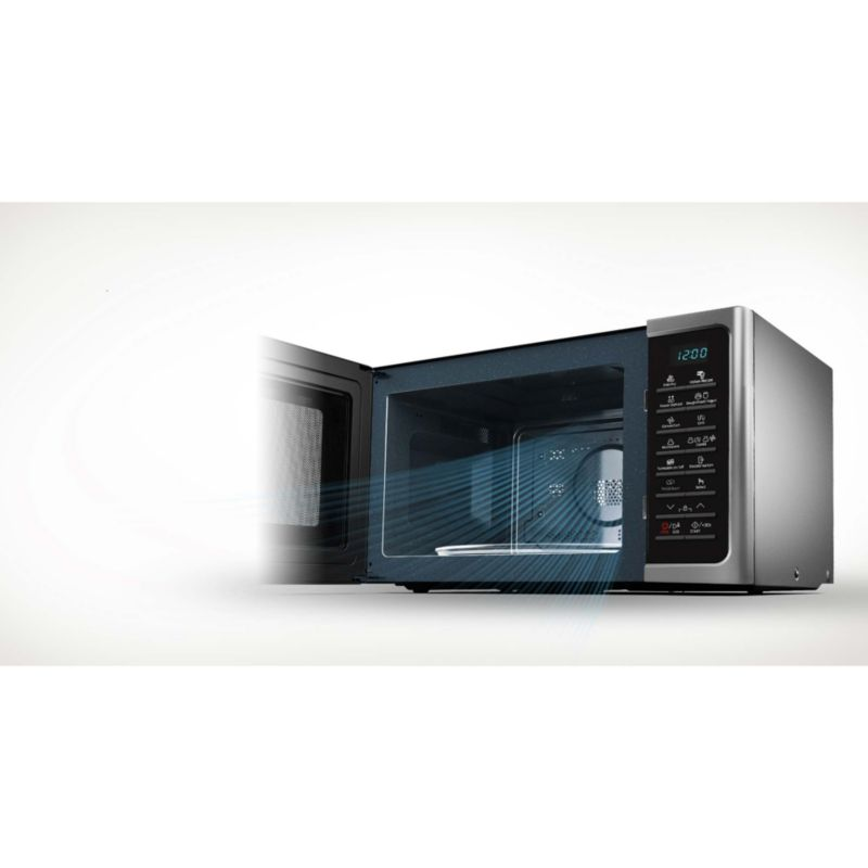 samsung mc28h5015cs eg hei luft mikrowelle 28 liter. Black Bedroom Furniture Sets. Home Design Ideas