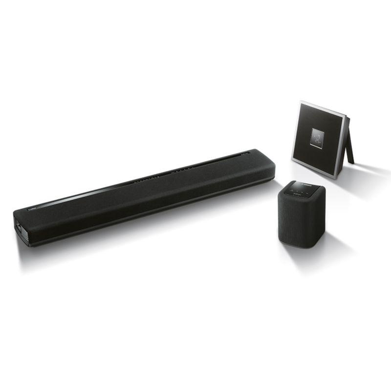 yamaha chorus multiroom set mit soundbar lautsprecher. Black Bedroom Furniture Sets. Home Design Ideas