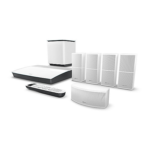 BOSE Lifestyle 600 Home Entertainment System 5.1 weiß