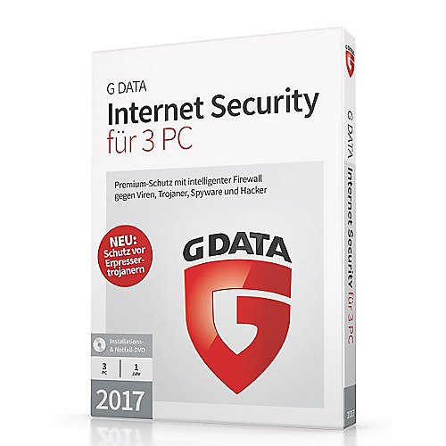 G DATA Internet Security 2017 3 PC (Minibox)
