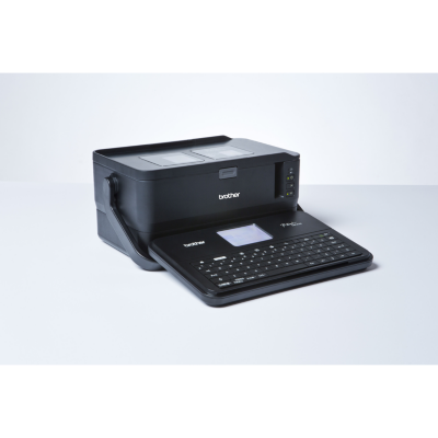 Brother  P-touch D800W Beschriftungsgerät Tastatur WLAN | 4977766760782