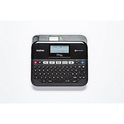Brother P-touch D450VP Beschriftungsgerät Barcodedruck inklusive Koffer | 4977766746038