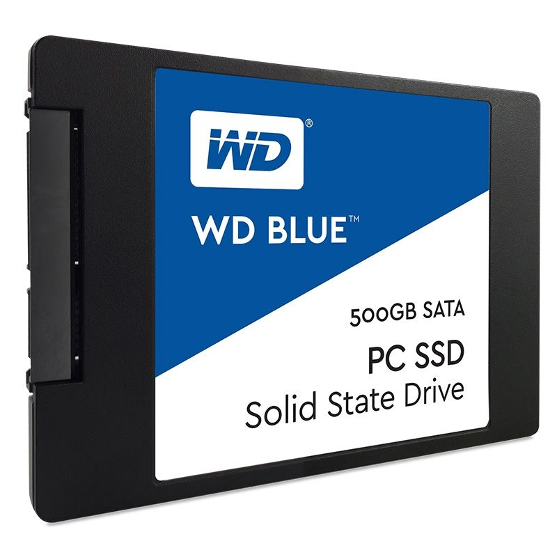 "WD Blue SSD 500GB SLC/TLC SATA 6Gb/s 2.5""/7mm"