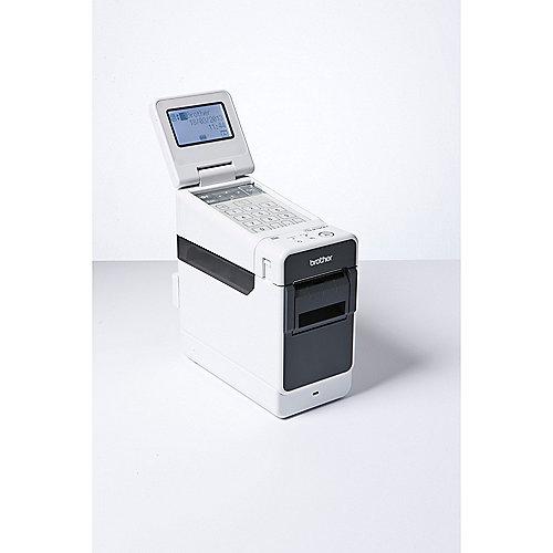 Brother TD-2130N Etikettendrucker monochrom direkt-thermisch LAN USB Seriell | 4977766719711