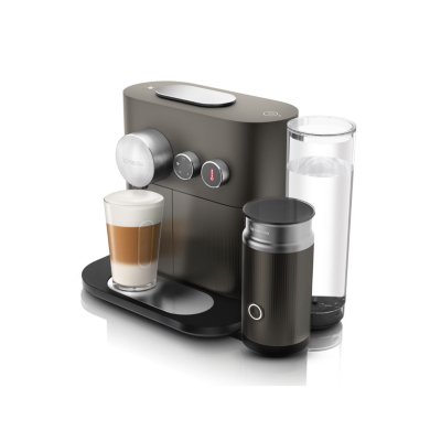 Delonghi  EN 355.GAE Expert and Milk Nespresso-System anthrazit/silber   8004399331778
