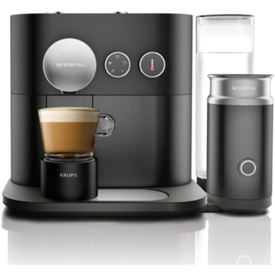Krups  XN 6018 Expert and Milk Nespresso-System Schwarz | 0010942220848