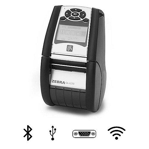 QLn 220 mobiler Etikettendrucker USB seriell Bluetooth WLAN | 5712505303412