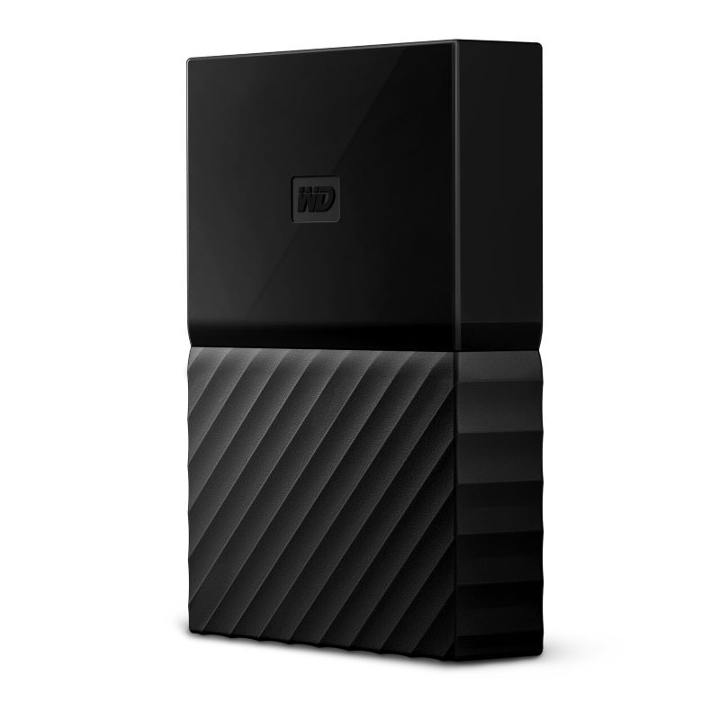 WD My Passport USB3.0 2TB 2.5zoll - Schwarz NEW