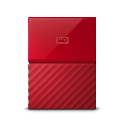 Western Digital WD My Passport USB3.0 1TB 2.5zoll – Rot NEW | 0718037849133