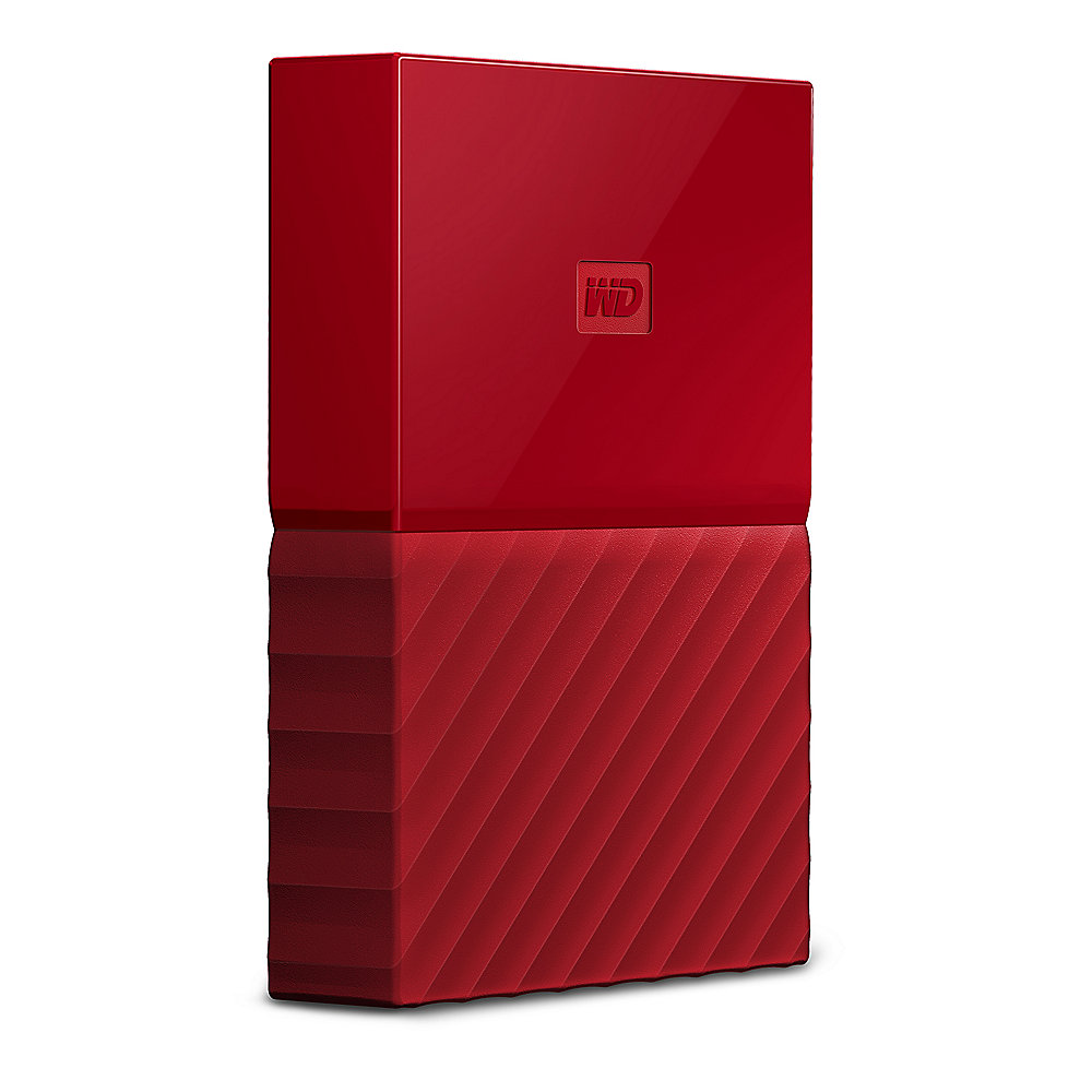 WD My Passport USB3.0 4TB 2.5zoll - Rot NEW
