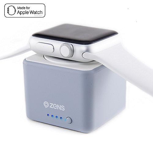 Zens Apple Watch Power Bank 1300mAh grau