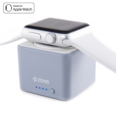 Zens  Apple Watch Power Bank 1300mAh grau | 3273648153491