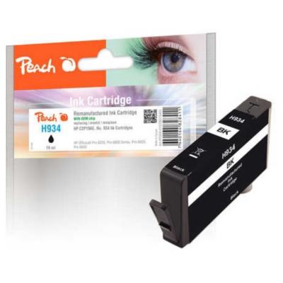 Peach  PI300-620 Tintenpatrone schwarz kompatibel HP 934 C2P19AE (neuer Chip) | 7640164828480