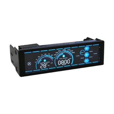 LC-Power  LC-CFC-2 6-fach Lüftersteuerung  mit LCD Touchdisplay, 5,25″ | 4260070125430
