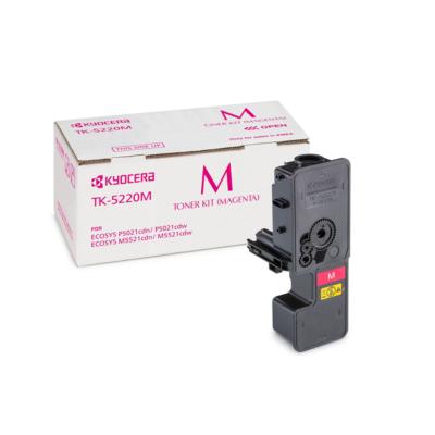 Kyocera  Original Toner TK-5220M / 1T02R9BNL1 Magenta für ca. 1.200 Seiten | 0632983037409