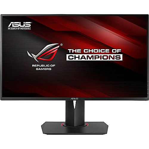 "ASUS PG278QR 68,6cm(27"") 1ms Gaming Monitor 165Hz G-Sync HDMI/DP/USB FlickerFree"