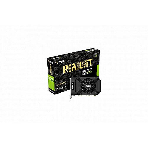 Palit GeForce GTX 1050 StormX 2GB GDDR5 Grafikkarte DVI/HDMI/DP | 4710636269387