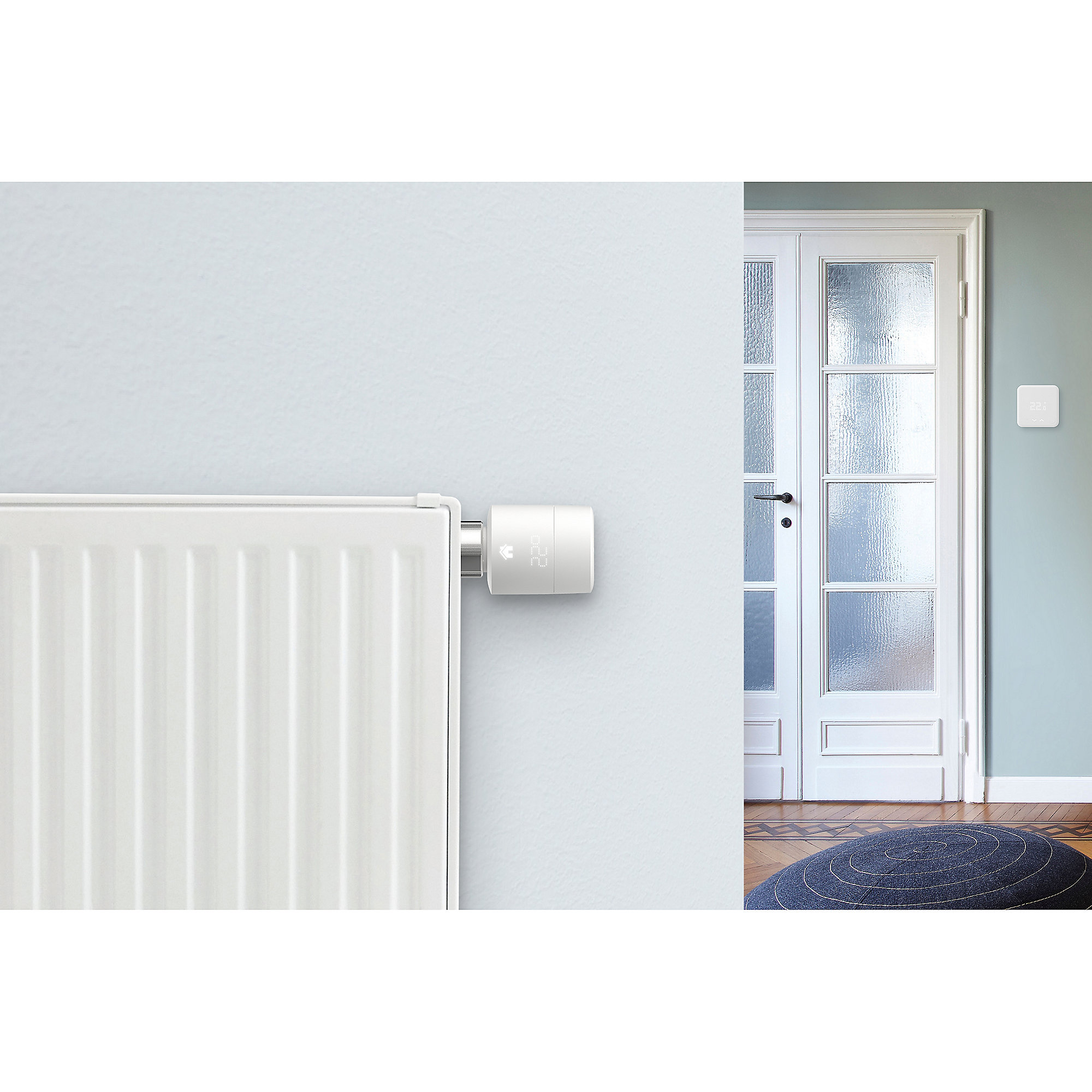 tado Smartes Heizkörperthermostat mit Apple HomeKit kompatibel 5er Set