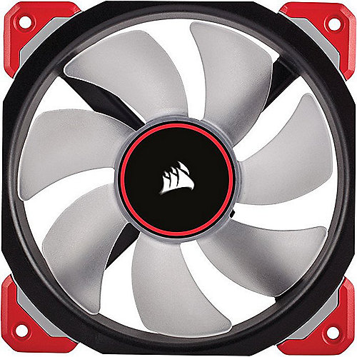 Corsair ML Series ML120 PRO LED Rot Magnetschwebetechnik Lüfter 120x120x25mm