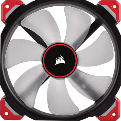 Corsair  ML Series ML140 PRO LED Rot Magnetschwebetechnik Lüfter 140x140x25mm | 0843591072175