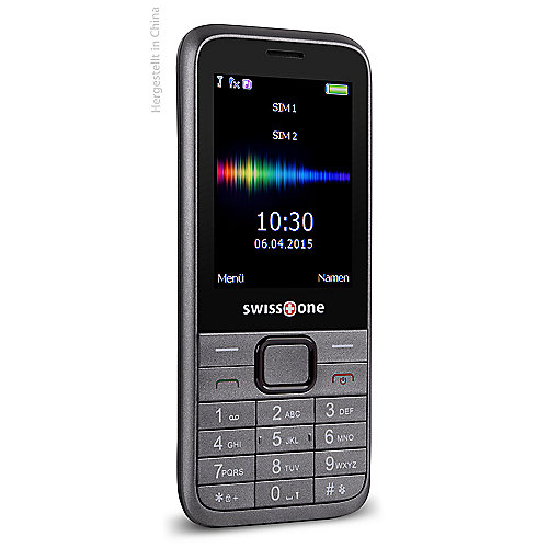 swisstone SC 560 Dual-SIM grau 1,3MP GSM Mobilt...