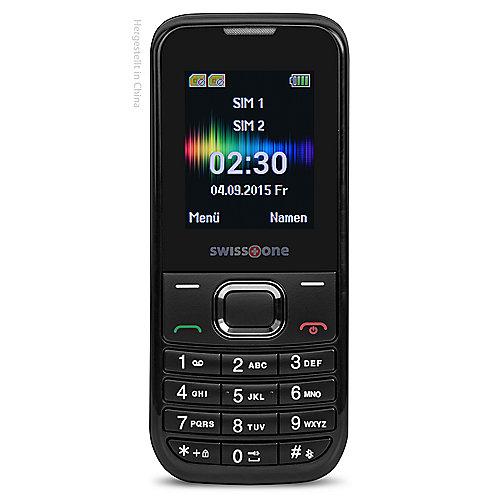 swisstone SC 230 Dual-SIM schwarz GSM Mobiltelefon
