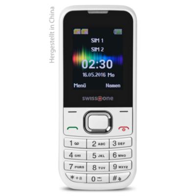 Doro swisstone SC 230 Dual-SIM weiß GSM Mobiltelefon   4260117673184