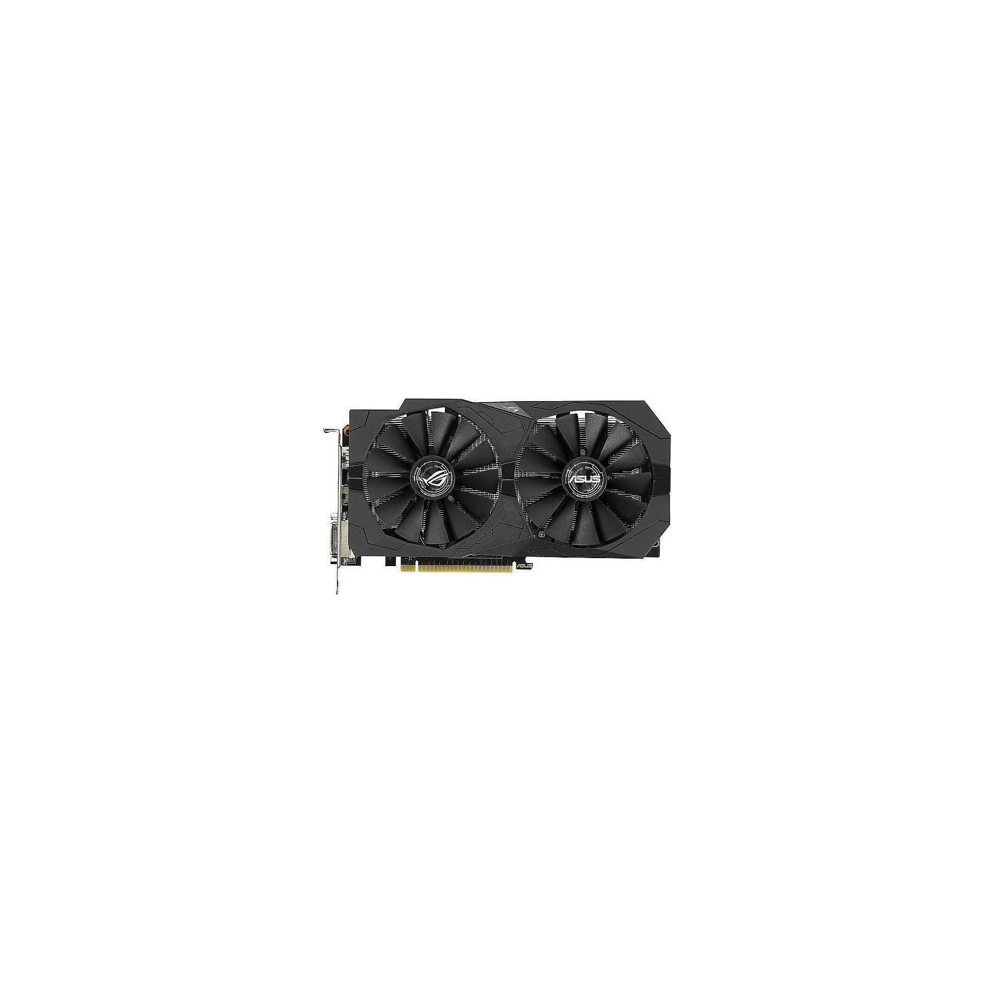 Asus GeForce GTX 1050Ti Strix ROG 4GB GDDR5 2xDVI/HDMI/DP Grafikkarte