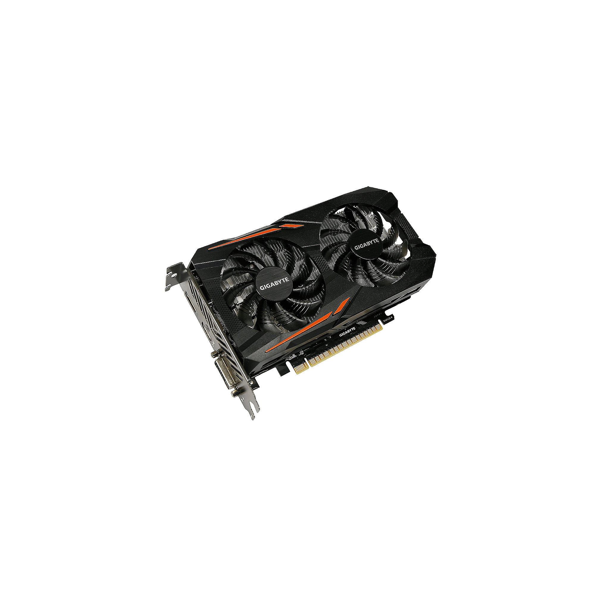 Gigabyte GeForce GTX 1050 OC 2GB GDDR5 Grafikkarte DVI/HDMI/DP