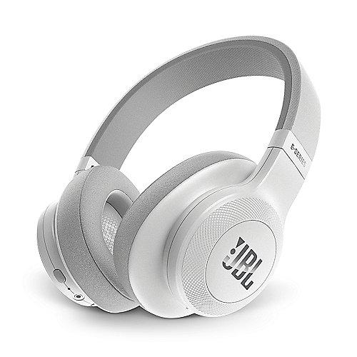 E55BT Weiß – Over-Ear – Bluetooth Kopfhörer mit Mikrofon | 6925281918186
