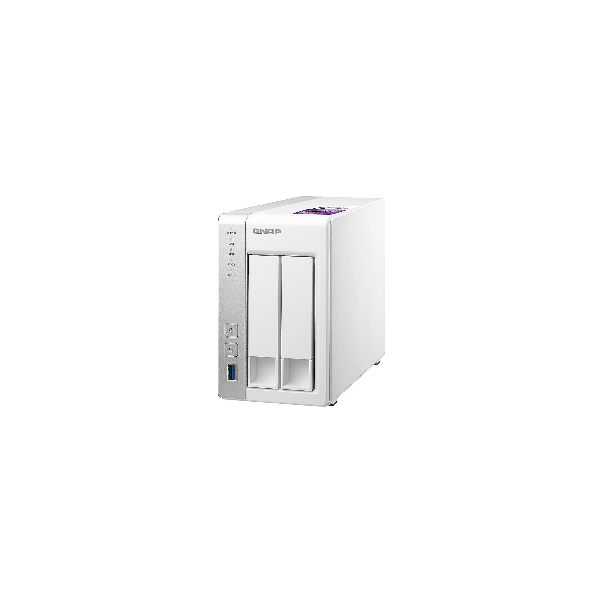 QNAP TS-231P NAS System 2-Bay 6TB inkl. 2x 3TB Seagate ST3000VN007