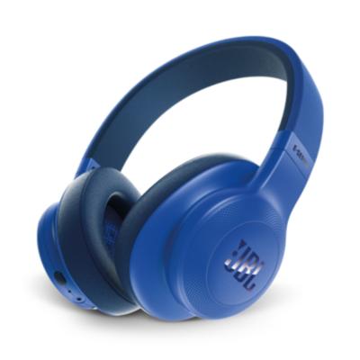 JBL  E55BT Blau – Over-Ear – Bluetooth Kopfhörer mit Mikrofon   6925281918155
