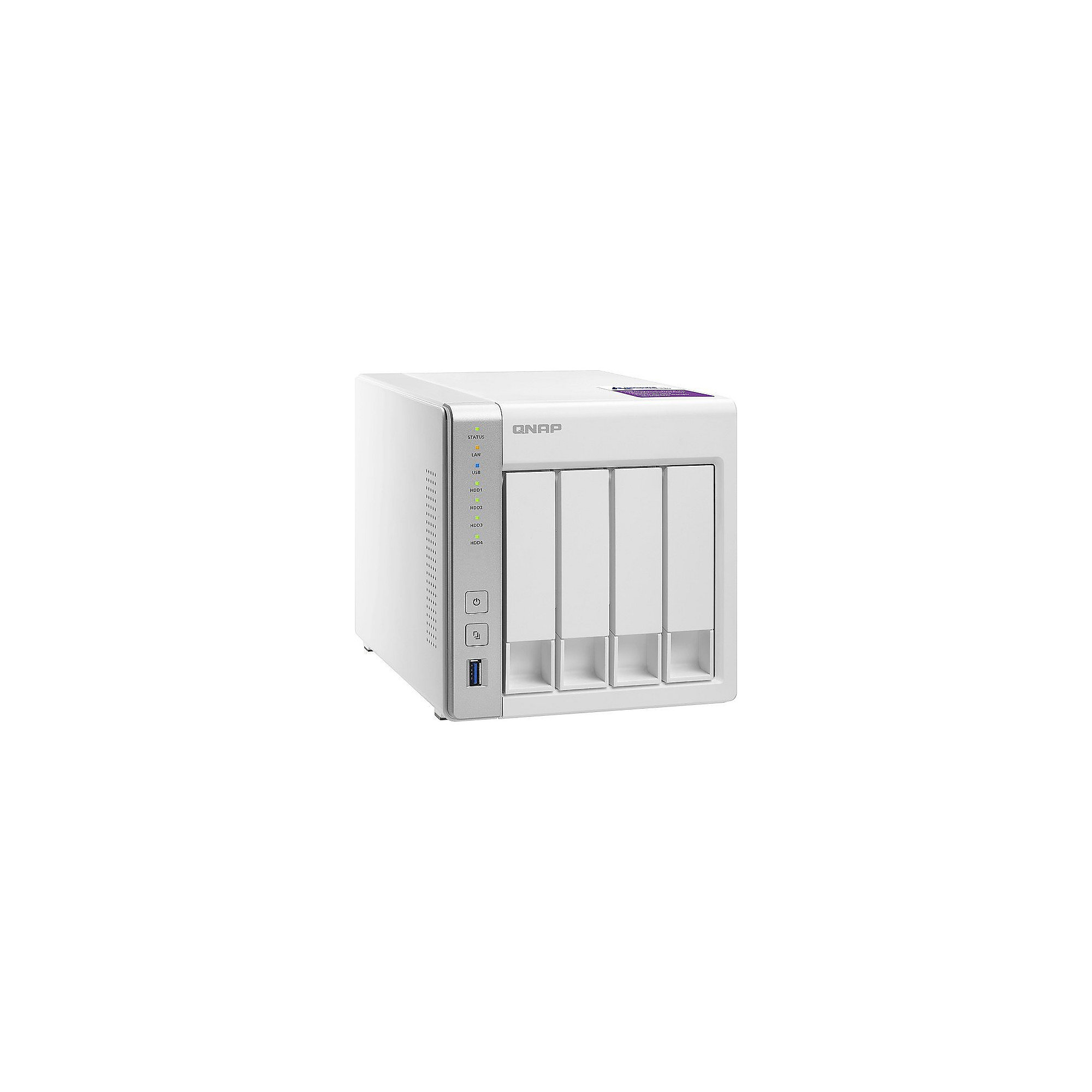QNAP TS-431P NAS System 4-Bay 8TB inkl. 4x 2TB Seagate ST2000VN004