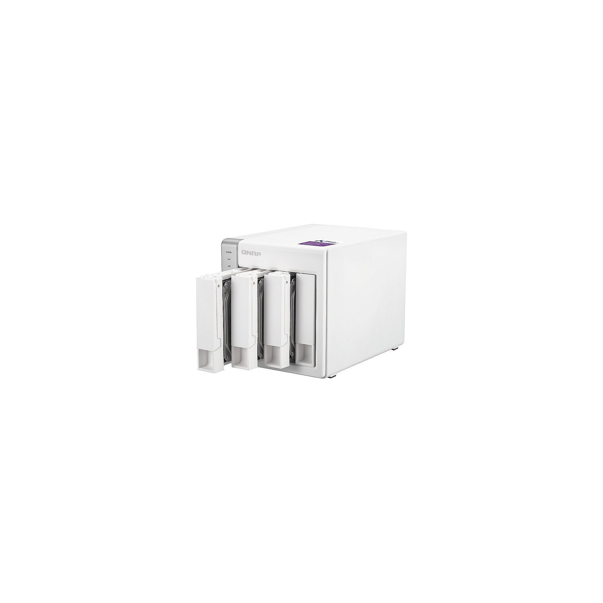 QNAP TS-431P NAS System 4-Bay 32TB inkl. 4x 8TB WD RED WD80EFZX