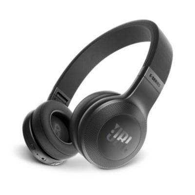 JBL  E45BT Schwarz – On Ear – Bluetooth Kopfhörer mit Mikrofon   6925281918094