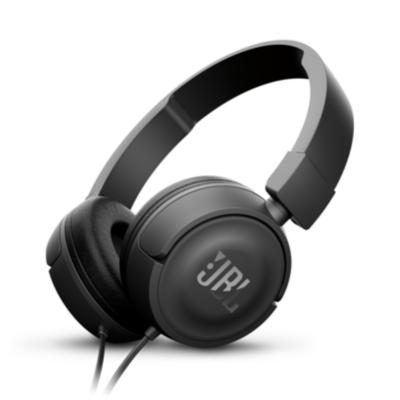 JBL  T450 Schwarz – On Ear-Kopfhörer mit Mikrofon   6925281918957