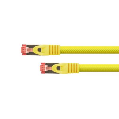 Python  RNS Patchkabel Cat.6 S/FTP PiMF PVC 250MHz OFC 0,25m gelb | 4014619666508