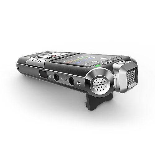 Philips Voice Tracer DVT 6010 Digitales Stereo Diktiergerät 8GB + microSD 3 Mic