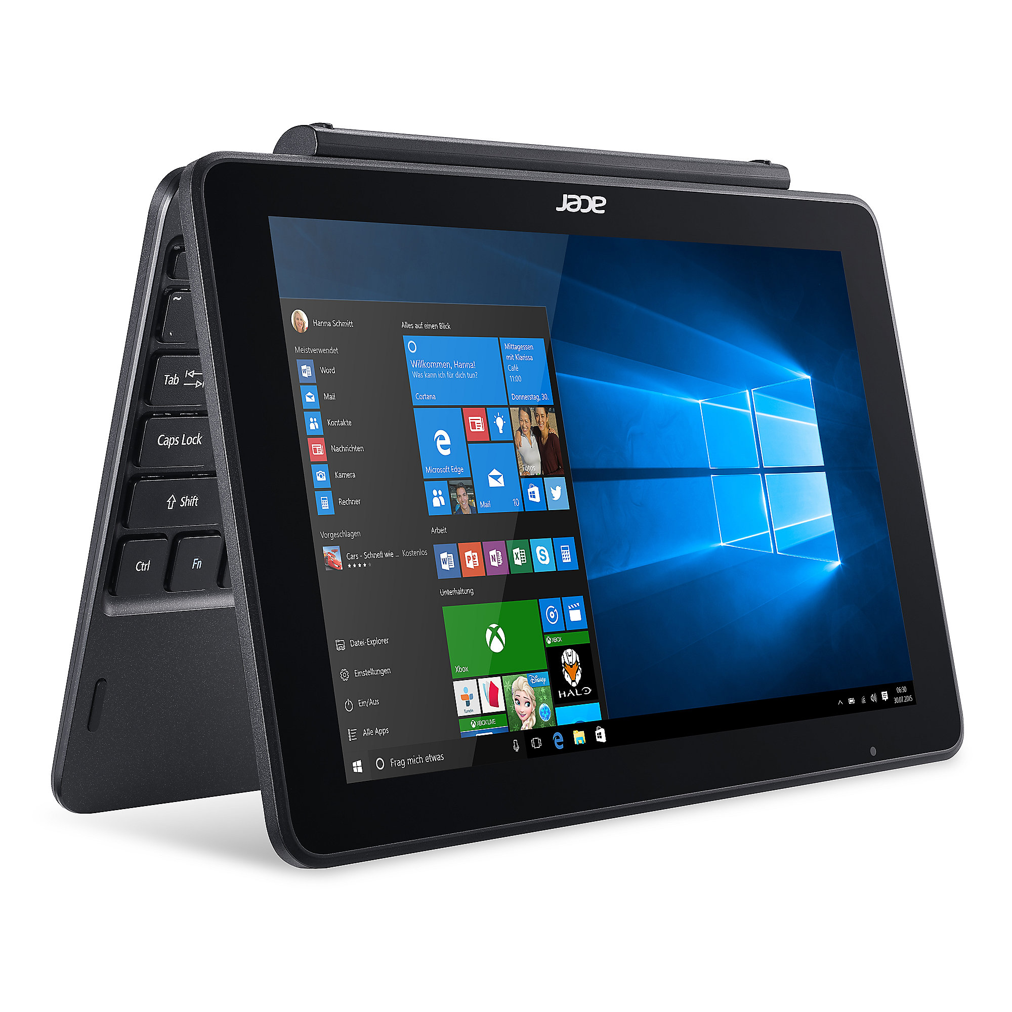 "Acer One 10 S1003-1298 Z8300 2GB/32GB 10,1"" HD 2in1 Touch W10 schwarz"