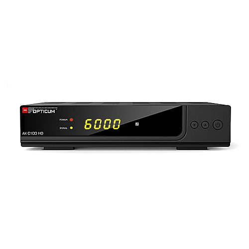 Opticum HD AX C100 HD Digital Kabelreceiver Full HD S-PDIF/Scart/HDMI/USB PVR