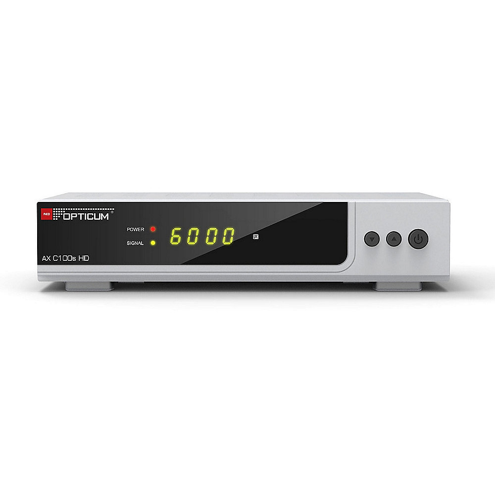 Opticum HD AX C100s HD Digital Kabelreceiver Full HD S-PDIF/Scart/USB/HDMI