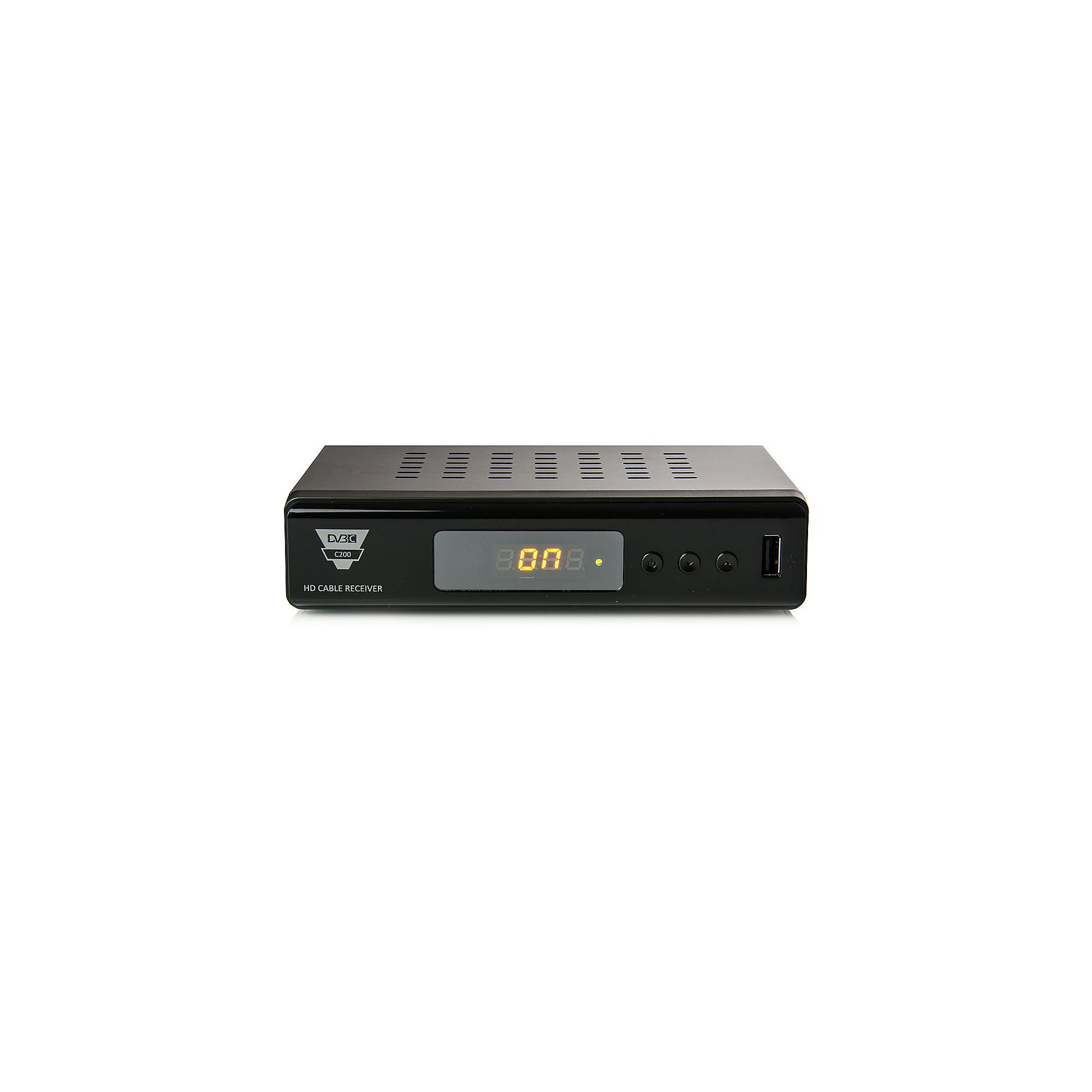 Opticum HD C200 Digital Kabelreceiver Full HD S-PDIF/Scart/USB/HDMI