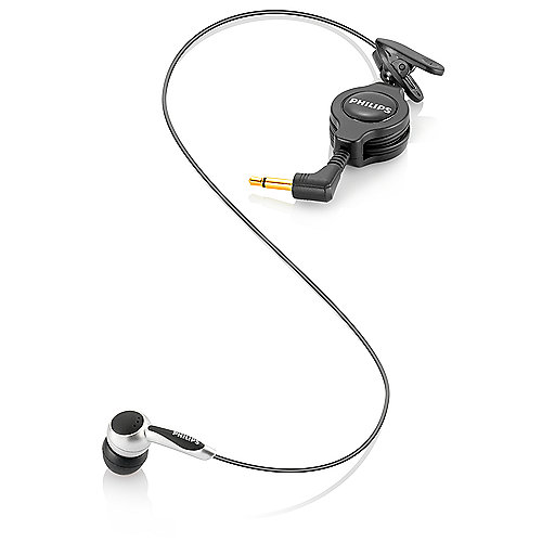 Philips LFH 9162 - In-Ear-Kopfhörer-Mikrofon, 3.5 mm vergoldet