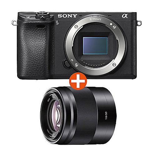 Alpha 6300 Kit 50mm f/1.8 OSS Systemkamera (SEL-50F18) | 4548736012035